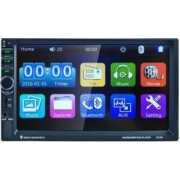 MP3 Player Auto Universal 2DIN cu Radio FM Bluetooth Display 7 Inch USB MicroSD AUX Microfon Incorporat