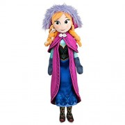 Childplaymate Plush Snow Princess Doll Ice Romance Adventure Queen Doll Toy (40cm Anna)