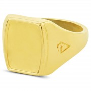 Northern Jewelry Blanker 925er Goldring