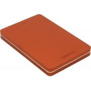 "Toshiba ext. drive 2.5"" USB 3.0 Canvio ALU 3S Red Външен HDD 500 GB"