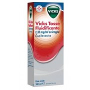 Procter & Gamble Srl Vicks Tosse Fluidif 200 Mg/15 Ml Sciroppo 1 Flacone 180 Ml