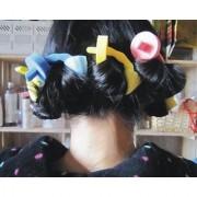 BONAMART 3pcs New Design Magic Sponge Hair Roller Styling Maker Curler Roll DIY Tool For Girls
