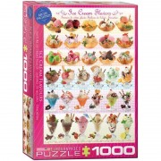 Eurographics Puzzle 1000 piese Ice Cream Flavours
