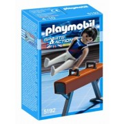 Playmobil Sports on Gymnast Pommel Horse Set
