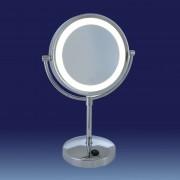 LED-illuminated cosmetic mirror London