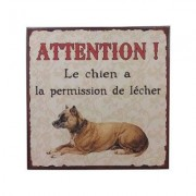 Lafinesse Blechschild Attention!