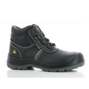 Safety Jogger EOS Veiligheidsschoenen ESD Hoge Werkschoenen S3 - Zwart - Size: 46