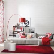 Schöner Wohnen Victoria L: 240 B: 170 H: 1,4 cm, rot 6380057010