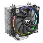 Охладител за процесор THERMALTAKE Riing Silent 12 RGB SYNC Edition AMD/Intel, THER-FAN-CL-P052-AL12SW-A