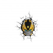 Lampara Decorativa Pared 3D Light Bumblebee Transformers Autobots-Amarillo