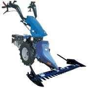 Motocultivator BCS 740 PS Alpina, mecanism de transmisie scurt in baie de ulei TORX, bara de cosire 145cm SF