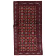 Handgeknüpft. Ursprung: Persia / Iran Persischer Belutsch Teppich 98X185 Dunkelrot (Wolle, Persien/Iran)