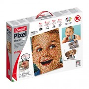 Quercetti Pixel Photo Create Your Own Custom Portrait 4 Peg Boards 6400 Pegs 0804