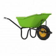 Haemmerlin Vibrante Pick Up Green 110LTR Wheelbarrow