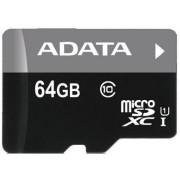 Memoria MicroSDHC 64GB Adata AUSDX64GUICL10-RA1 clase 10