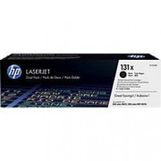 HP 131X Original Toner Cartridge CF210XD Black 2 Pieces