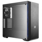Кутия Cooler Master MasterBox MB600L Blue, Mid-Tower, Черен, CM-CASE-MCB-B600L-KANN-S01