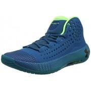 Under Armour HOVR Havoc 2 Zapatillas de Baloncesto para Hombre, Vibe Verde Azulado (404)/Teal Rush, 7 US