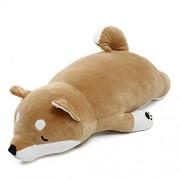 HITSAN INCORPORATION Japanese Anime Shiba Inu Dog Stuffed Plush Toy Doll Soft Stuffed Animal Toy Cute Puppy