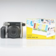 Fuji Film instax Wide 300 Instant Film Camera with 5 packs of Wide Film Twin Pack