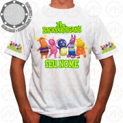 Camiseta Os Backyardigans Personagens Pose