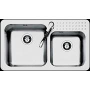 Chiuveta BARAZZA Select 1FS9060/2 86x50 cm cu 2 cuve
