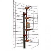 Mrežasta antena + pločica + ispravljač