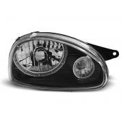 Přední světla, lampy Angel Eyes Opel Corsa B, Combo B 93-00 černá H4