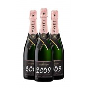 Champagne Moët & Chandon Grand Vintage Rosé 2009 (x3)