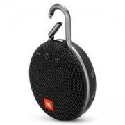 Водоустойчива тонколонка JBL CLIP 3, IPX7, Bluetooth 4.1, 3 W, черен, JBLCLIP3BLK