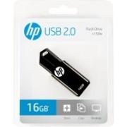 HP V150W Black/Blue 16 GB Pen Drive(Blue, Black)