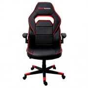 Mars Gaming SILLA GAMER MGC117BR COLOR NEGRO/ROJO ASIENTO RECLINABLE BRAZOS ABATIBLES
