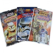 Star Wars Set of 3 Grab and Go Play Packs for Quick Activities On the Go