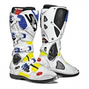 Sidi Crosslaarzen Crossfire 3 White/Blue/Yellow Fluo-45 (EU)