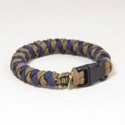 EDCX Paracordarmband Samurai - Sennit Weave (Storlek: Small)