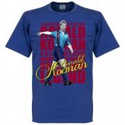 Retake Ronald Koeman Legend T-Shirt - blau - XXXL