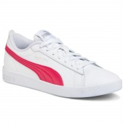 Сникърси PUMA - Smash Wns v2 L 365208 18 Puma White/Bright Rose/Silvr