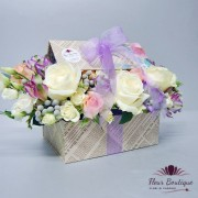 """Carte cu flori """"Love in Paris"""" CTF004"""