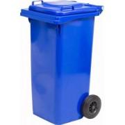ics Pattumiera 120 Blu Pattumiera Bidone Rifiuti In Plastica Con Ruote Capacità In Litri 120 Colore Blu