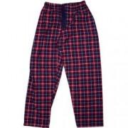 Pantaloni de casa grosi Cargo Bay pentru barbati imprimeu dungi Rosu/Bleumarin