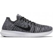 Nike Women's Free Run Flyknit - scarpe running neutre - donna - White/Black