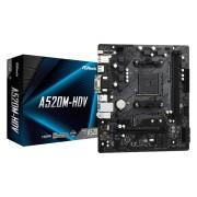 MB ASRock A520M-HDV, AM4, micro ATX, 2x DDR4, AMD A520, 36mj (90-MXBE50-A0UAYZ)