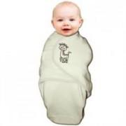 Body Special Tip Wrap Bo Jungle Girafa Pentru Bebelusi Marime S (3-6Kg) Din Bumbac Organic