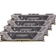 Ballistix Sport AT DDR4 64GB Kit 16GBx4 2666 MT/s DR 288pin