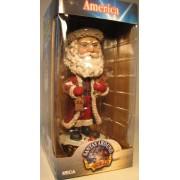 NECA Santas Around The World Head Knockers - America Santa Claus