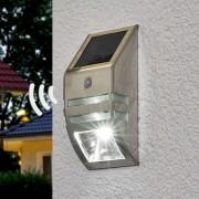 Brenenstuhl Aplique de pared solar LED Sol WL-2007 sens. mov.