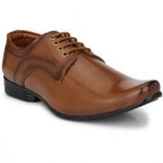 Lee Peeter Men's Tan Lace-up Formal Shoe
