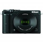 Nikon 1 J5 Mirrorless Digital Camera W/ 10-30mm PD-ZOOM Lens (Black)