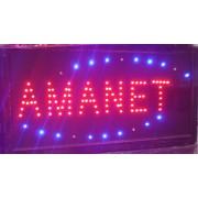 Panou Afisaj Reclama cu LED 50x25cm Amanet