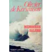 Mémoires salées - Olivier De Kersauson - Livre